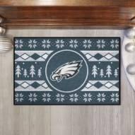 Philadelphia Eagles Christmas Sweater Starter Rug
