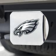 Philadelphia Eagles Chrome Color Hitch Cover