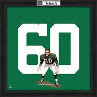 Philadelphia Eagles Chuck Bednarik Uniframe Framed Jersey Photo