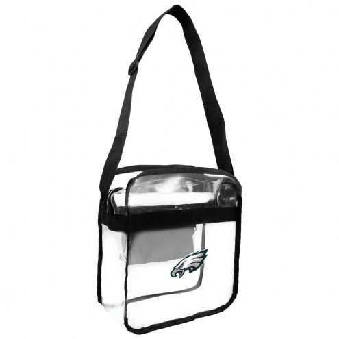 Philadelphia Eagles Clear Crossbody Carry-All Bag
