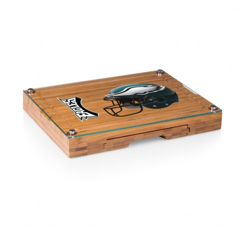 Philadelphia Eagles Concerto Bamboo Cutting Board