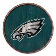 "Philadelphia Eagles Cracked Color 24"" Barrel Top"