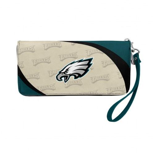 Philadelphia Eagles Curve Zip Organizer Wallet