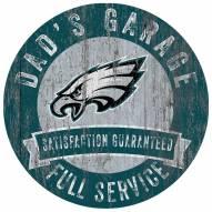 Philadelphia Eagles Dad's Garage Sign