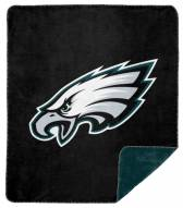 Philadelphia Eagles Denali Sliver Knit Throw Blanket