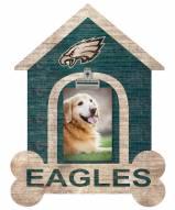 Philadelphia Eagles Dog Bone House Clip Frame