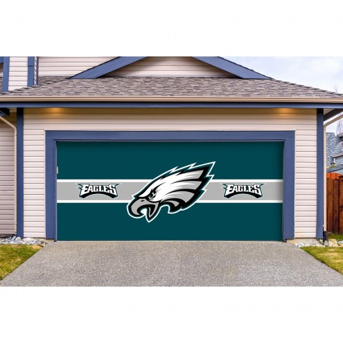 Philadelphia Eagles Double Garage Door Cover