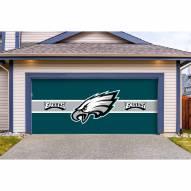 Philadelphia Eagles Double Garage Door Cover