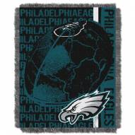 Philadelphia Eagles Double Play Jacquard Throw Blanket