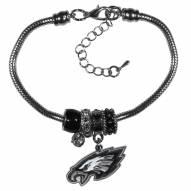 Philadelphia Eagles Euro Bead Bracelet