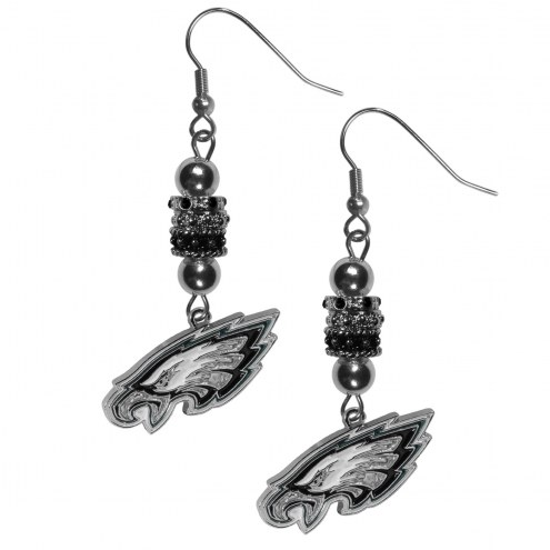 Philadelphia Eagles Euro Bead Earrings