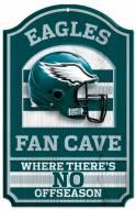 Philadelphia Eagles Fan Cave Wood Sign