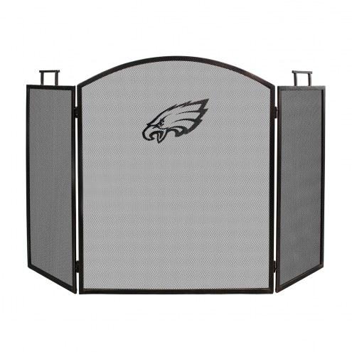 Philadelphia Eagles Fireplace Screen