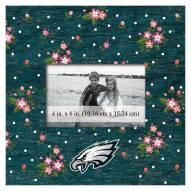 "Philadelphia Eagles Floral 10"" x 10"" Picture Frame"