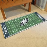 Philadelphia Eagles Football Field Runner Rug