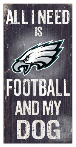 Philadelphia Eagles Football & My Dog Sign