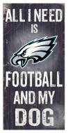Philadelphia Eagles Football & My Dog Sign