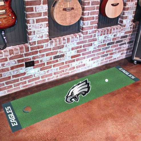 Philadelphia Eagles Golf Putting Green Mat