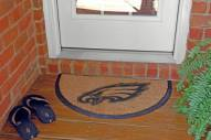 Philadelphia Eagles Half Moon Door Mat