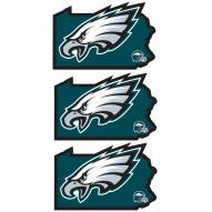 Philadelphia Eagles Home State Decal - 3 Pack