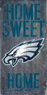 Philadelphia Eagles Home Sweet Home Wood Sign