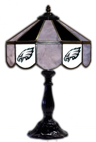 "Philadelphia Eagles 21"" Glass Table Lamp"