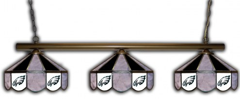 Philadelphia Eagles 3 Shade Pool Table Light