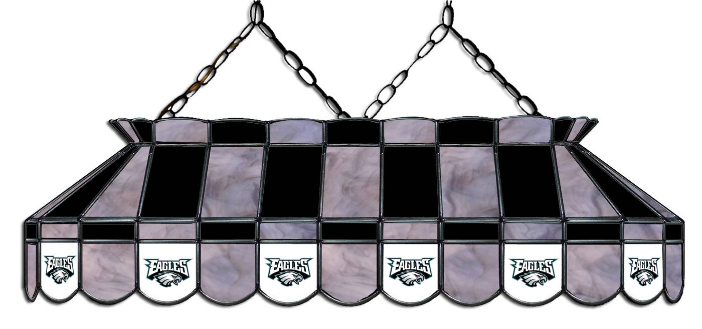 Philadelphia Eagles 40 Quot Stained Glass Pool Table Light