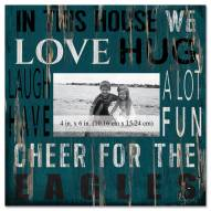 """Philadelphia Eagles In This House 10"""" x 10"""" Picture Frame"""