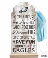 Philadelphia Eagles In This House Mask Holder