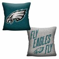 Philadelphia Eagles Invert Woven Pillow