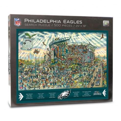 Philadelphia Eagles Joe Journeyman Puzzle