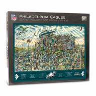 Philadelphia Eagles Joe Journeyman Puzzle