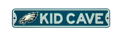 Philadelphia Eagles Kid Cave Street Sign