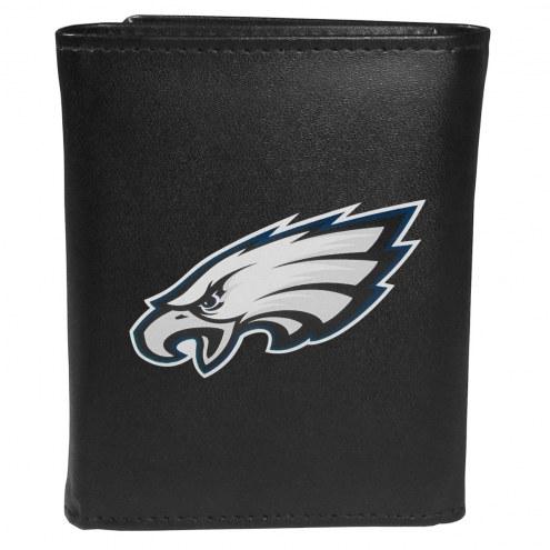 Philadelphia Eagles Large Logo Leather Tri-fold Wallet