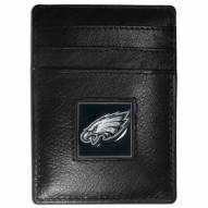 Philadelphia Eagles Leather Money Clip/Cardholder
