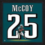 Philadelphia Eagles LeSean McCoy Uniframe Framed Jersey Photo