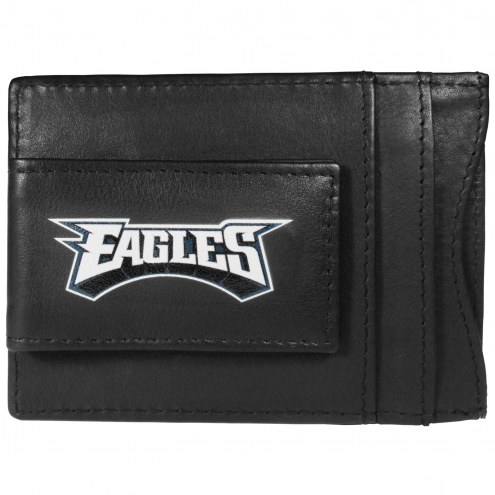 Philadelphia Eagles Logo Leather Cash and Cardholder