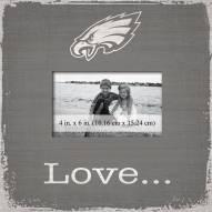 Philadelphia Eagles Love Picture Frame