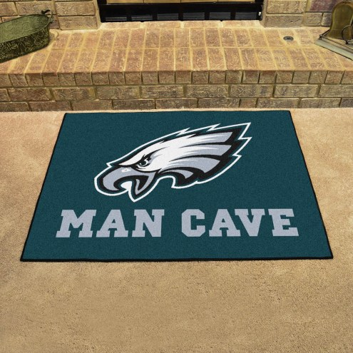 Philadelphia Eagles Man Cave All-Star Rug