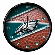 Philadelphia Eagles Football Clock