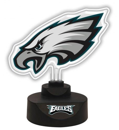Philadelphia Eagles Team Logo Neon Light