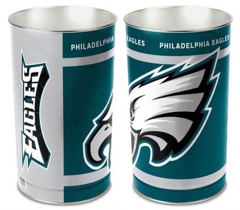 Philadelphia Eagles Metal Wastebasket