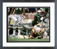 Philadelphia Eagles Mike Quick 1989 Action Framed Photo