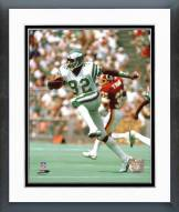 Philadelphia Eagles Mike Quick Action Framed Photo