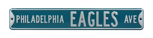 Philadelphia Eagles NFL Authentic Street Sign