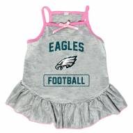 Philadelphia Eagles NFL Gray Dog Dress