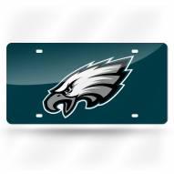 Philadelphia Eagles NFL Laser Cut License Plate