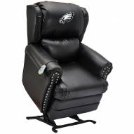 Philadelphia Eagles Leather Coach Lift Recliner