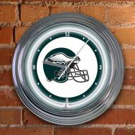 Philadelphia Eagles NFL Neon Wall Clock